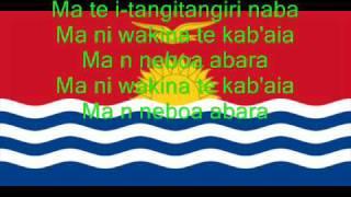 Hymne national de Kiribati/National Anthem of Kiribati