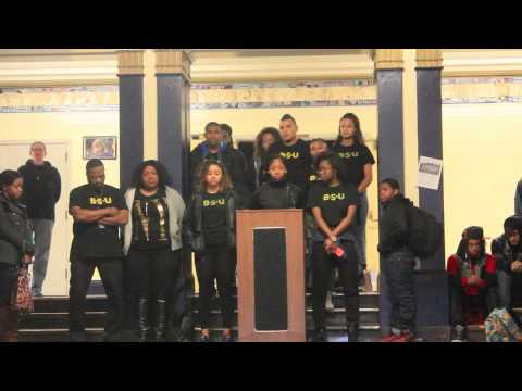 BSU - Ferguson Protest