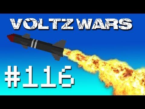 Minecraft Voltz Wars - Flaming Peacock Feast! #116