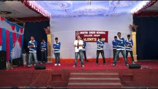 M3 Boys Funny Dance in College Day in MGM college Udupi