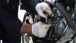 9. Suzuki DR650 Oil Change and Engine Treatment