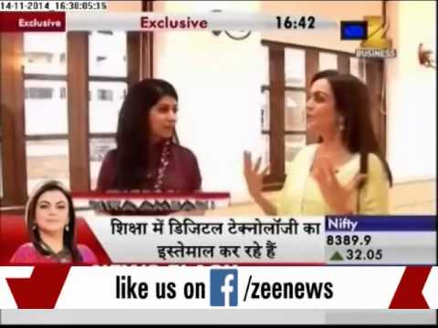 nita ambani - In an exclusive interview with Zee biz,Nita Ambani talked about the newly refurbished HN Reliance Foundation hospital which aims to provide world class medic...