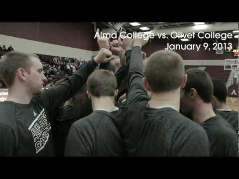 Alma College Men's Basketball - January 9, 2013