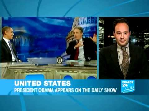 Obama gets serious on US comedy talk show