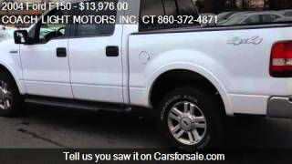 2004 Ford F150 Lariat for sale in EAST WINDSOR, CT 06088 at