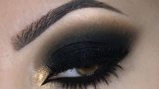 ♡ Black Smokey Eye ♡ Make Up ♡ - YouTube