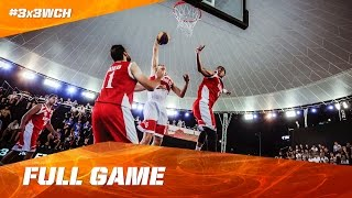 Watch the thrilling match between Indonesia and Egypt from day 4 of the #3x3WCH in full length! Subscribe to the FIBA3x3 channel: ...