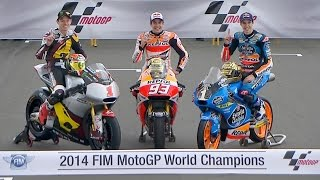 Video MotoGP™ 2014 – Marquez makes history again MP3, 3GP, MP4, WEBM, AVI, FLV Oktober 2018