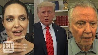 Angelina Jolie, Jon Voight React To Trump Impeachment Inquiry