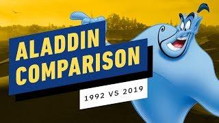 Disney's Aladdin - 1992 vs. 2019 Shot-for-Shot Comparison by IGN