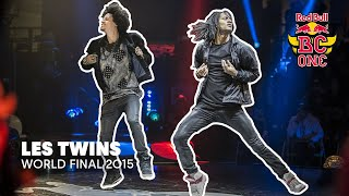 Les Twins performing live | Red Bull BC One World Final 2015