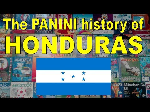 The Panini history of Honduras (Men's Soccer Team)