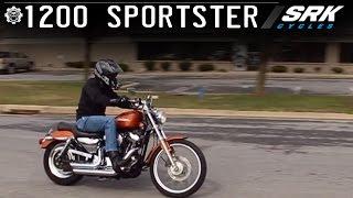 4. Harley Davidson Sportster 1200 Test Drive