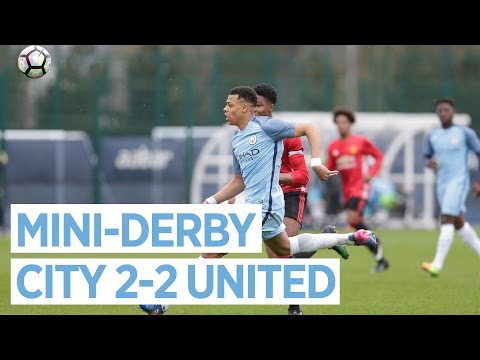 Video: OUTRAGEOUS SKILL! | CITY U18 2-2 UNITED U18
