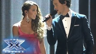 The Top 8 Face Off! - THE X FACTOR USA 2013