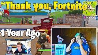 Video Ninja Gets Emotional when Reacting to His FIRST Game of Fortnite! MP3, 3GP, MP4, WEBM, AVI, FLV Oktober 2018