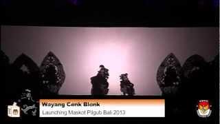 KPU Bali | Wayang Cenk Blonk