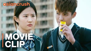Video The hottest guy in school wants to be my math tutor | 'So Young 2: Never Gone' w/ Kris Wu, Liu Yifei MP3, 3GP, MP4, WEBM, AVI, FLV Agustus 2019