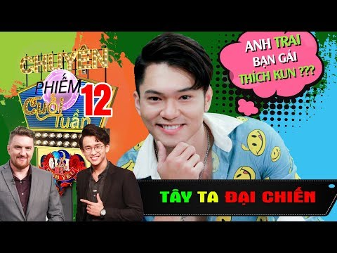 TÂY TA ĐẠI CHIẾN #GMTY #12 |Đi TẮM gặp bố người yêu - Bảo Kun bỏ chạy khi anh của bạn gái thích mình - Thời lượng: 36 phút.