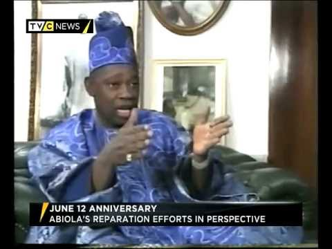 Nigeria's Moshood Abiola's Reparation Efforts In Perspective