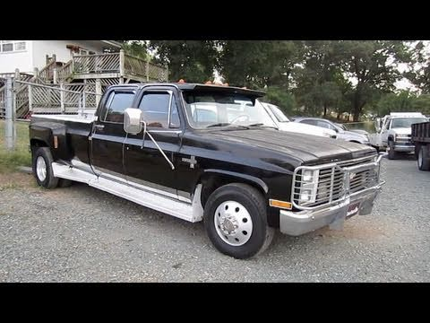 1987 Chevy Crew Cab Dually