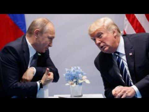 Trump, Putin meet amid tensions over Syria, North Korea