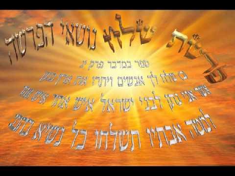 Parashat Shéla'h Lékha - 5774 - Rav Mordékhay Saksik