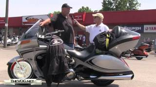 10. Victory Vision Motorcycle Rider Review - Meet Bigfoot And Check Out His 2011 Victory Vision