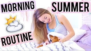Summer Morning Routine! by Meredith Foster