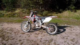 8. Honda CR250 R - 2007 last of the 2 stroke´s
