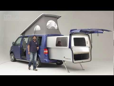 一開始大家以為這是普通的露營車,但按下按鈕後出現的「變形效果」讓大家都想把房子賣掉了!