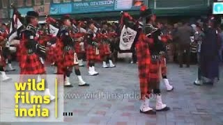 Kalimpong India  City pictures : Scottish Gurkha bagpipers from Kalimpong : a piece of Scotland in India!
