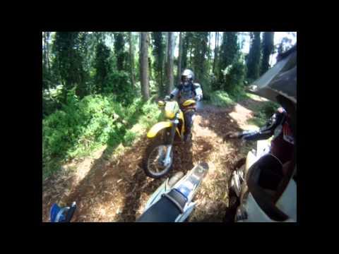 Trilha de moto em Candói 2014