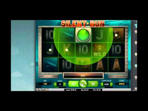 Silent Run from Netent - 2 Euro Session - Mega Big Win [Wintime.us]