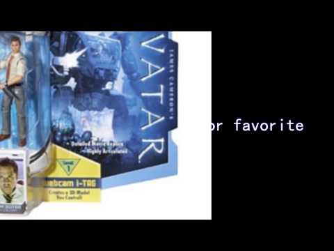 Video New YouTube  video for the Avatar Rda Parker Selfridge Action Figure