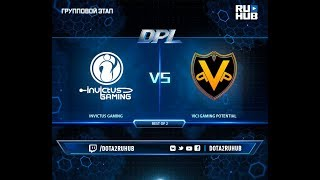 Invictus Gaming vs VGP, DPL 2018, game 2, part 1 [Lex, 4ce]