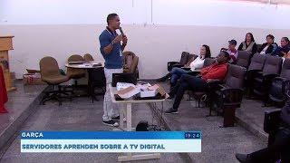 Servidores da prefeitura de Garça passam por treinamento com a Seja Digital