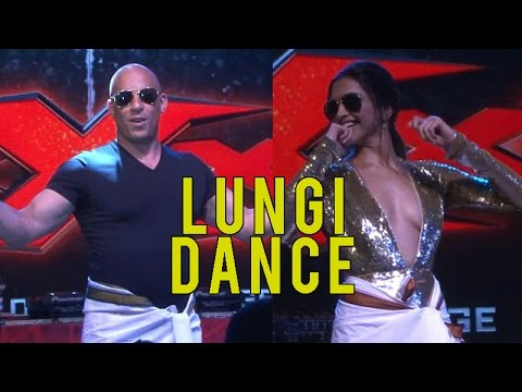 Video Deepika Padukone made Vin Diesel dance on Lungi Dance and it was EPIC! download in MP3, 3GP, MP4, WEBM, AVI, FLV January 2017