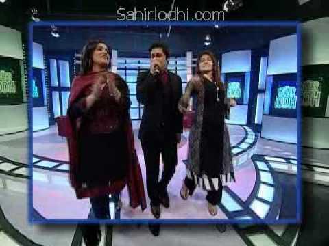 Dr Shaista Wahidi at The Sahir Lodhi Show
