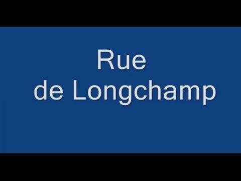 Rue de Longchamp Paris Arrondissement  16e