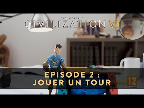 Épisode 2 : Jouer un tour de Civilization VI