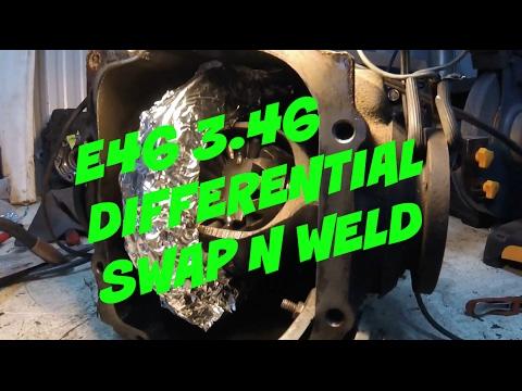 E46 3.46 DIFF SWAP N WELD Couple of Jerks LS Bmw Drift