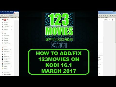 (March 2017) How to Install and Fix 123Movies on Kodi 16.1 Mucky Duck