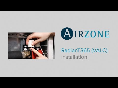 Installation Système RadianT pour plancher chauffant-rafraîchissant (VALC)