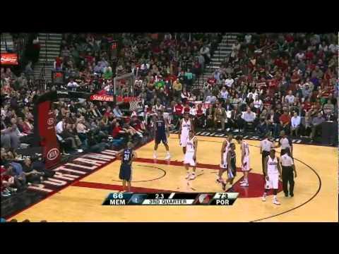 Memphis Grizzlies 89 – Portland Trail Blazers 102