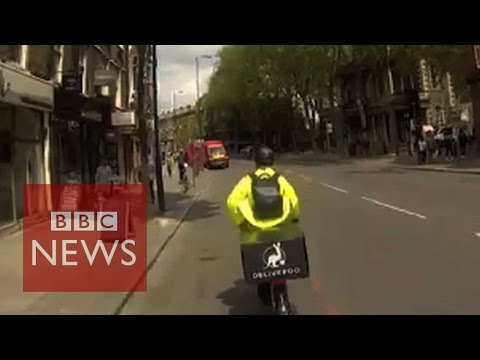 Start-ups changing the food delivery business - BBC News