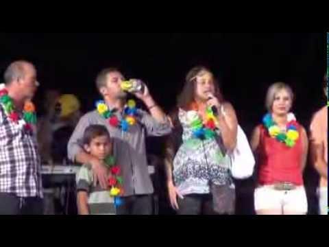 Visita da Dep Federal Luciana Santos no carnaval 2014 em Correntes