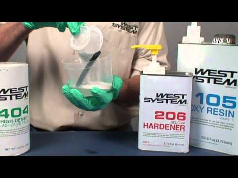 West System Epoxy: Adding Fillers