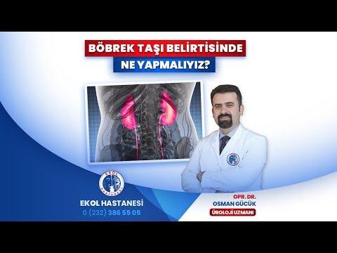 Böbrek Taşı Belirtisinde Ne Yapmalıyız? - Opr. Dr. Osman Gücük - İzmir Ekol Hastanesi