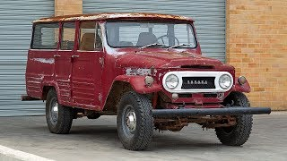 1964 Toyota Land Cruiser FJ45LV Restoration Project